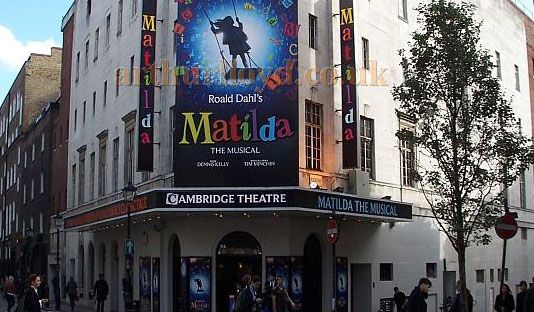Matilda The Musical is the winner of 7 prestigious Olivier awards and was nominated in every category. So head towards Cambridge Theatre London with Matilda The Musical Theatre Tickets!