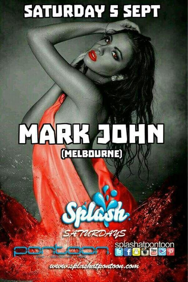 Splash Saturday 5 Sept  Featuring guest MARK JOHN (Melbourne) +FLITE & MC UNCLE ABE For VIP Party@promotersinc.com or download our app and book. #splashatpontoon #splash #henscapital #darlingharbour #henshq #onelastfling