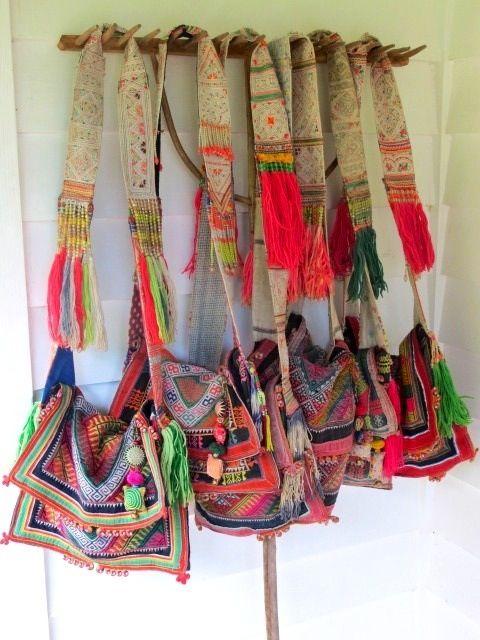 Bohemian beach bag  series. I love love these!!!!!