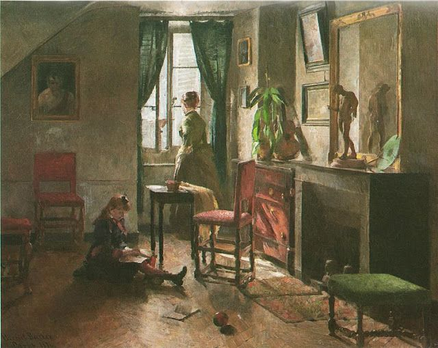 Harriet Backer 1845 1932 Norwegian Art InteriorsMaster