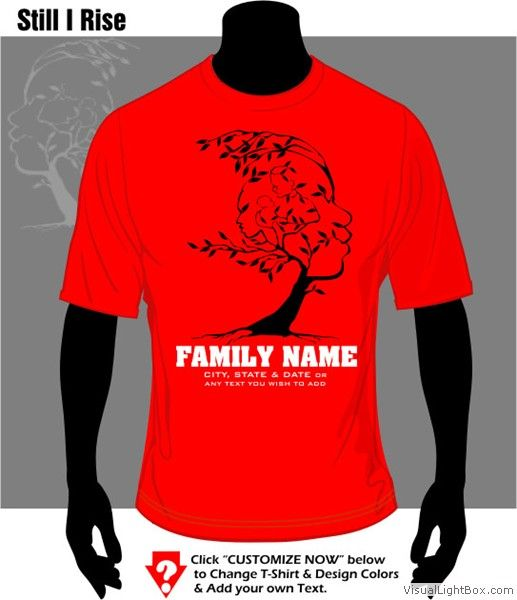 High Quality T Shirt Cafe African American Family Reunion T Shirt Designs