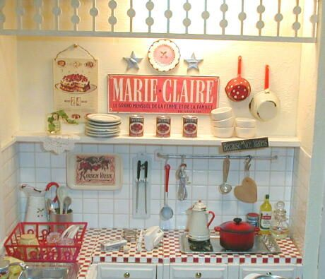 Küche Im Shabby Look 4642 best kitchens are my favorite miniatures images on