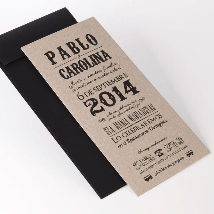 Tarjeta boda papel reciclado . Invitació casament en caixa .  Invitaciones de Boda · Invitacions de Casament · Wedding Essence · Bodas con Encanto · Invitacions de Casament · Bodas Barcelona · Bodas Sevilla · Bodas Valencia · Bodas Madrid · Bodas Andorra