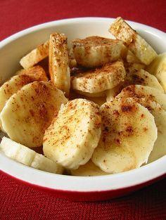 Baked Bananas With Honey & Cinnamon (Dessert on the Mediterranean Diet?)