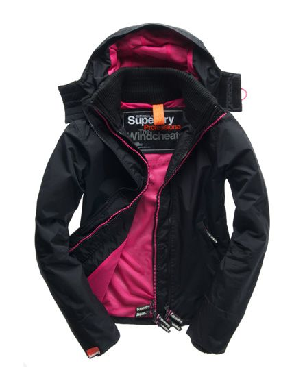 Superdry Hooded Tech Windcheater - want!