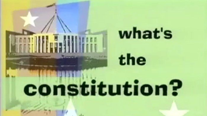 The Australian constitution - History (6,9)
