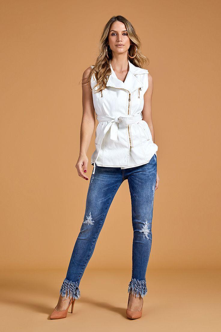 ILICITO Alto Verão 2019 - Lounge As peças em jeans estão ... b4e64c38011
