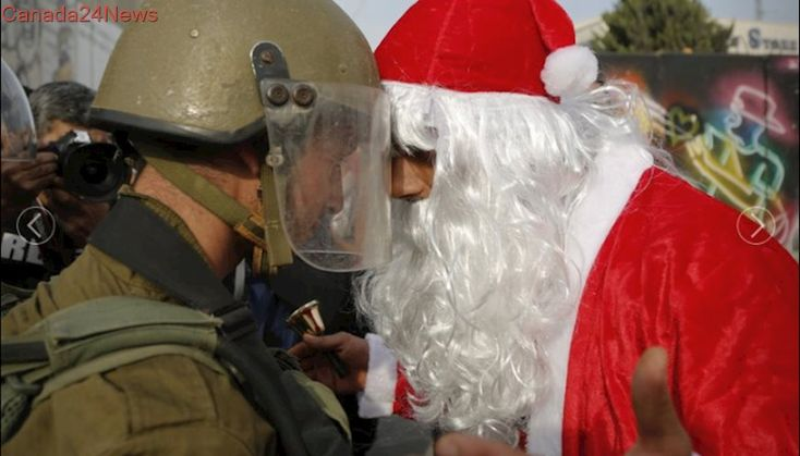 Palestinians to celebrate Christmas in Bethlehem amid anger at Donald Trump
