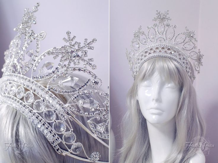 Snow Queen Crown by Lillyxandra on DeviantArt