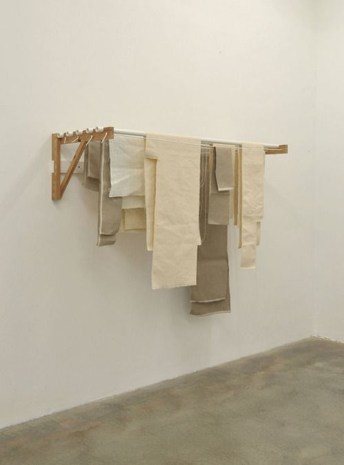 Indoor clothesline - no instructions (it's a Tumblr image) but it may serve as inspiration for someone.