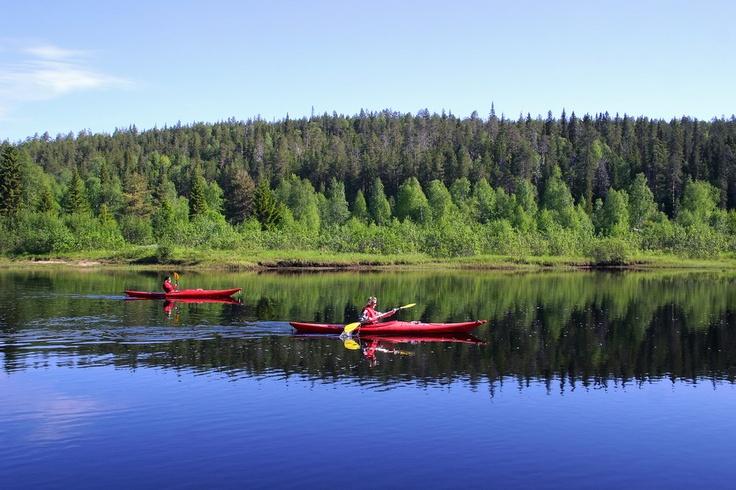 River safari in Oulanka PAN Park / Photo: Kimmo Salminen