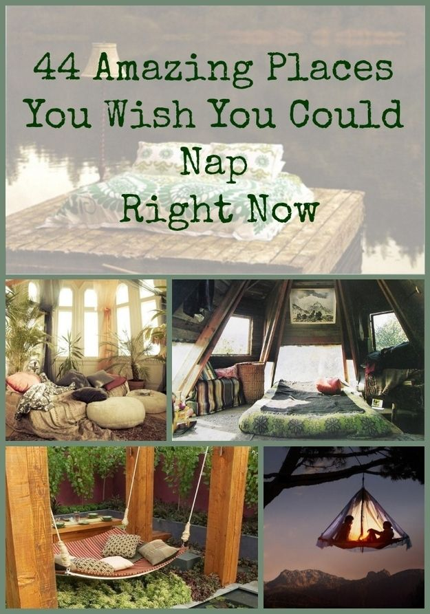 Community Post: 44 Amazing Places You Wish You Could Nap Right Now