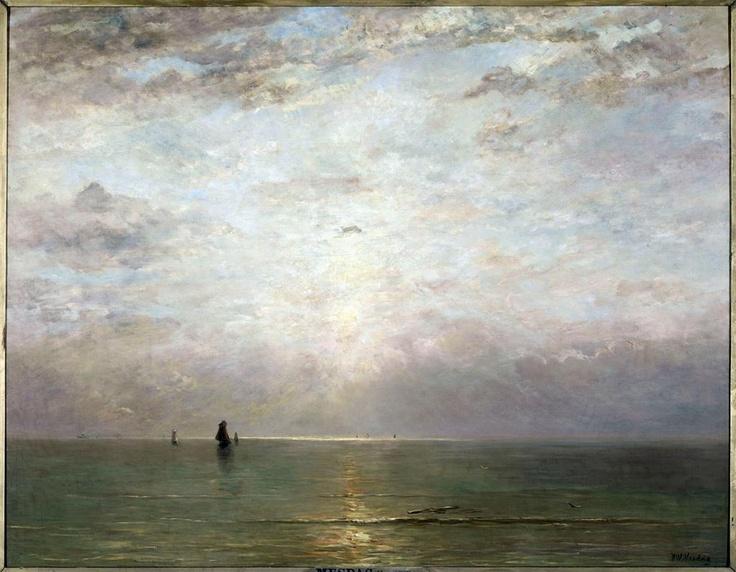 Sunset / Hendrik Willem Mesdag / c. 1887