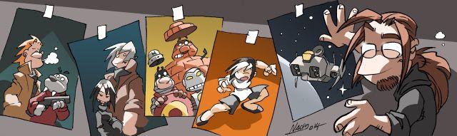 Conoce la trayectoria de Nacho Fernandez dibujante del comic Hijos de Valken de Grafito Editorial