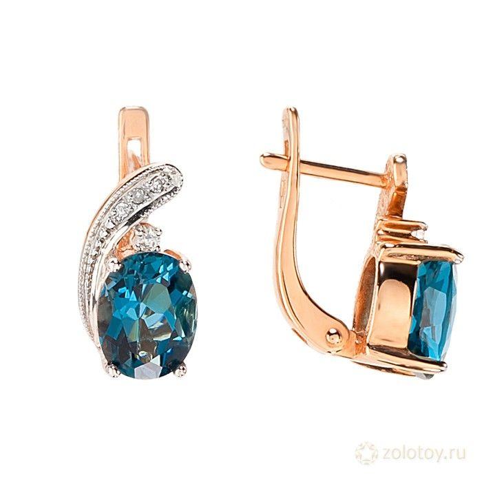 СЕРЬГИ С ТОПАЗАМИ LONDON, БРИЛЛИАНТАМИ И РОДИРОВАНИЕМ ТОВ № 13372 Минимальная цена на 20.01.2014 - 16405 р. http://www.zolotoy.ru/catalog/earrings_with_colored_stones/2078071286973/#ad-image-0 #серьги #украшения #интернетмагазин #золотой