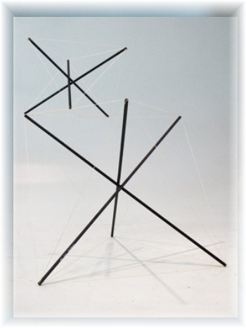 Bruno Munari sculpture, Casati gallery