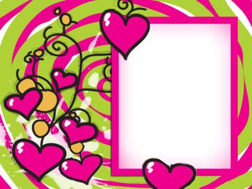 Descargar marcos para fotos gratis amor