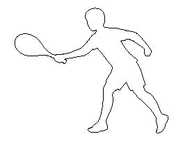 Tennis Player Pattern