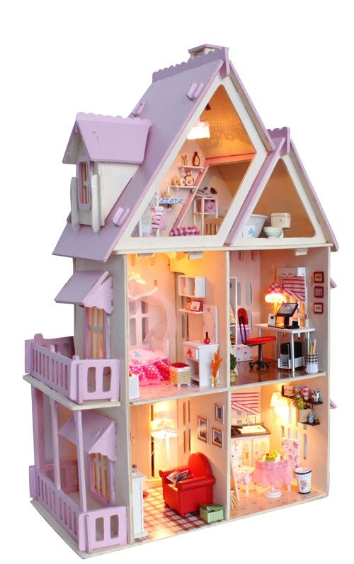 14 best images about doll houses on pinterest miniature for Young house love dollhouse