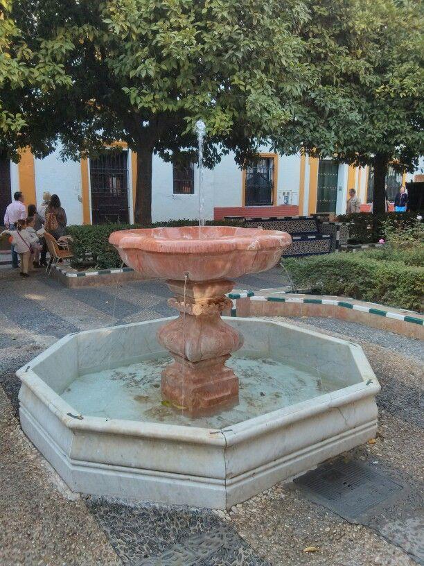 Fuente. Barrio de Santa Cruz. Sevilla