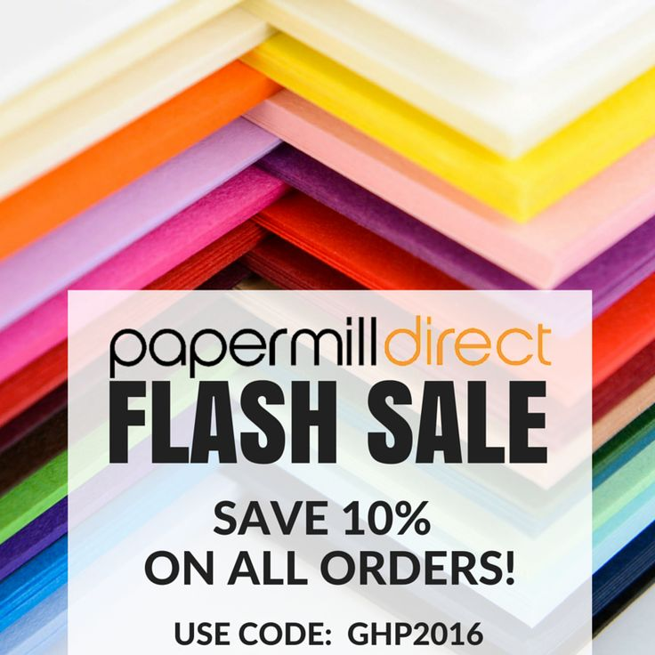 We have some very exciting news about Papermilldirect!
