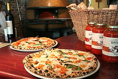 Bavaro's in Tampa ~ Fantastic Wood Fire Pizza and he makes great sauces as well.  Check it out.  Tampa Bay Metro Magazine I Food & Wine #tampa #pizza #italianrestaurant