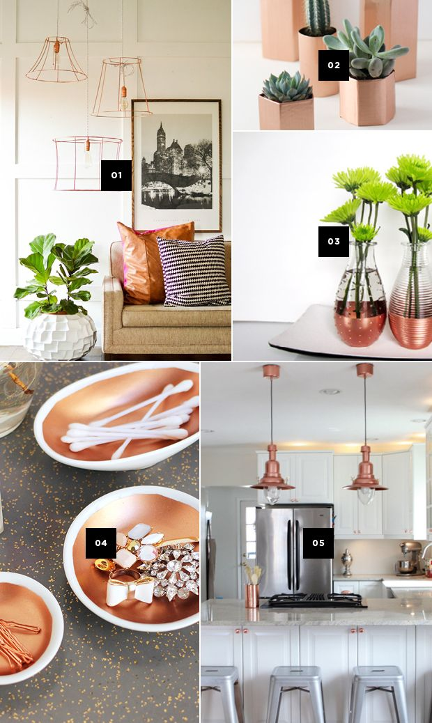 5 Diy Ways To Add Copper Accents To Your Home And A