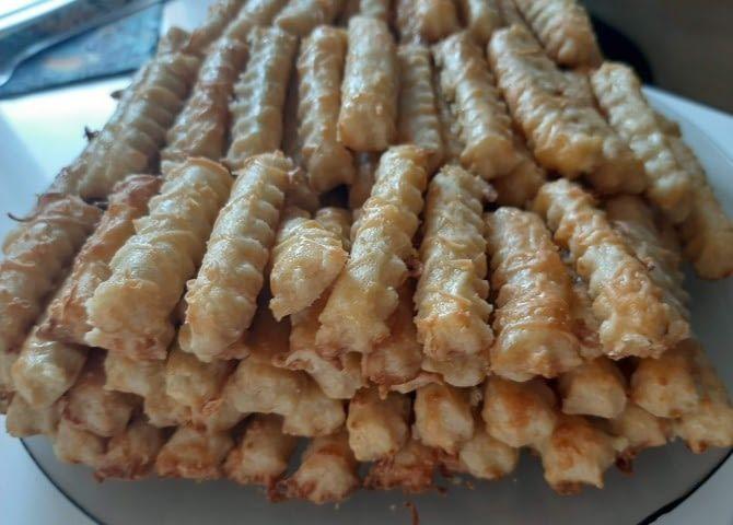 la fogyás süti tészta rudak)