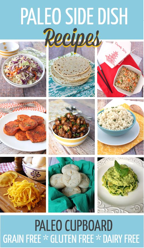 Paleo Side Dish Recipes - PaleoCupboard.com