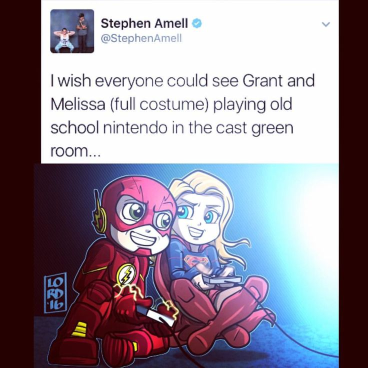 """Lordmesa Art — """"Gamers"""" EVEN BETTER BECAUSE STEPHEN AMELL TWEETED IT FIRST!!!!"""