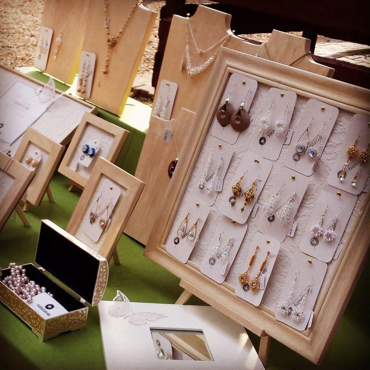 Thebigday handmade bridal jewelry Jewelry display