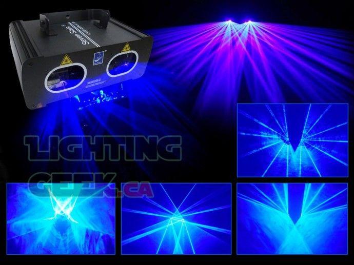 Double lens blue laser lights M500B/2 500mW
