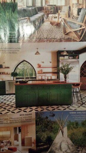 Moroccan kitchen.