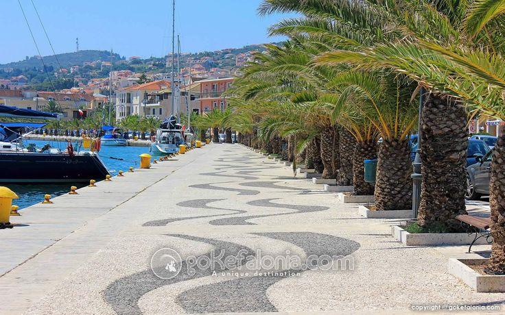Argostoli Harbour, Kephalonia, Greece