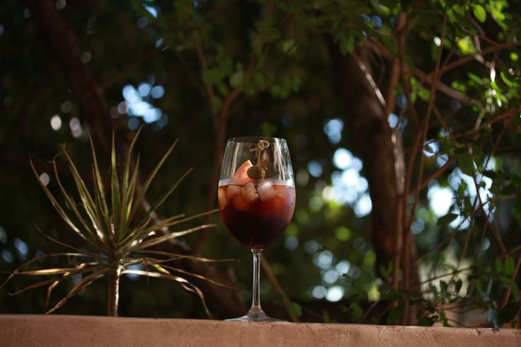 VERMOUTH APERITIVO: It's hot hot hot! Refreshing beverages required. Must be aperitivo hour. Mix 60ml of Casa Mariol sweet vermouth with a splash of Noilly Prat dry vermouth and a splash of soda water. Add a slice of pink grapefruit and a Spanish olive or two for garnish.