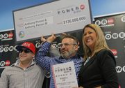 Random numbers and $2 were the ticket to $136 million for Anthony Perosi, 56, of Staten Island, and his son who are sharing the winnings from a New York Lottery Powerball drawing of a ticket sold at a 7-Eleven in Richmond Valley. #lottery #powerball #StatenIsland #nyc