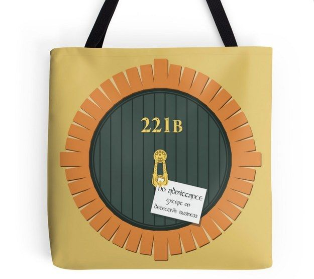 """This bag that combines Martin Freeman's two iconic roles:   Community Post: 21 Terrific Gifts For The """"Sherlock"""" Fan In Your Life"""