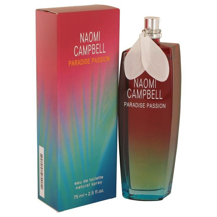 Naomi Campbell Paradise Passion by Naomi Campbell Eau De Toilette Spray 2.5 oz