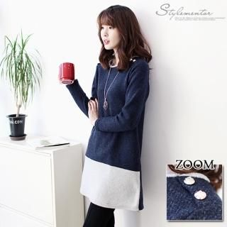 Buy 'Stylementor – Color-Block Bouclé Tunic' with Free International Shipping at YesStyle.com. Browse and shop for thousands of Asian fashion items from South Korea and more!