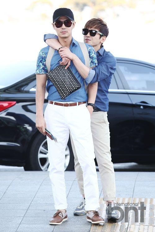 Park Choongjae #junjin #shinhwa & Lee Minwoo