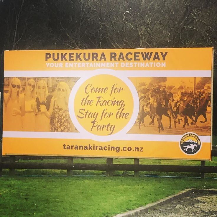 Just in time for the launch of the new racing season tomorrow. Pukekura Raceway. Your Entertainment Destination.