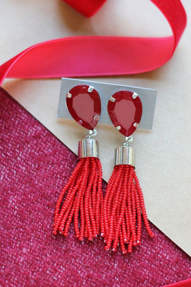 the 25+ best beaded tassel earrings ideas on pinterest | tassels