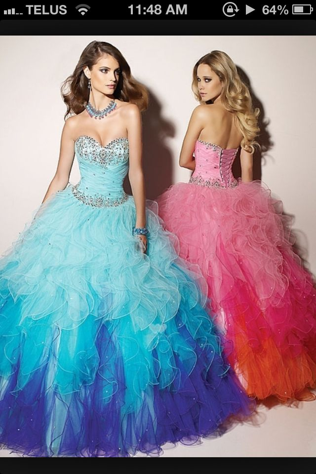 Grad dress..I lllooovvee the blue one :)