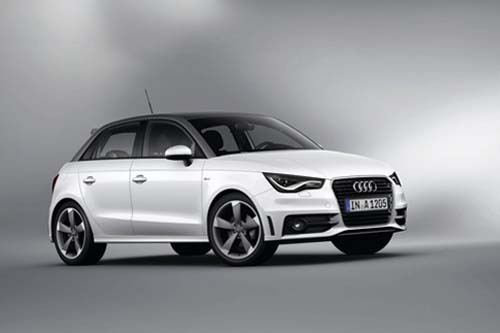 Audi A1 Sportback 1.4 TFSI S Line S Tronic in white