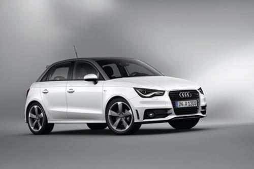Audi A1 Sportback 1.4 TFSI S Line S Tronic in white