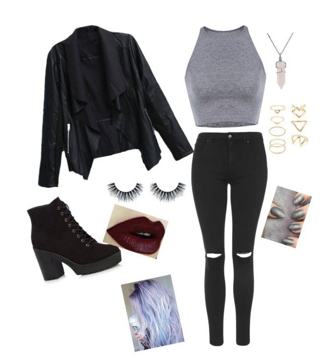 """G eazy concert"" by allisonruiz94 on Polyvore featuring Topshop, Bling Jewelry and Forever 21"