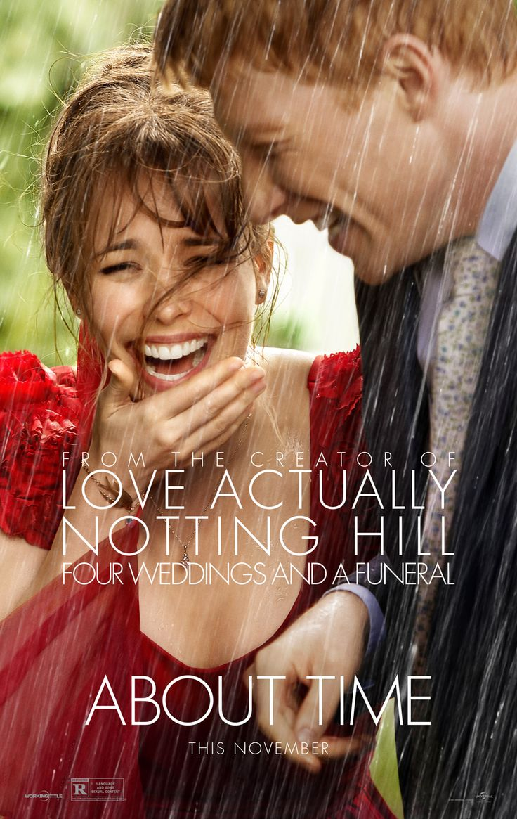 Universal Pictures' About Time - such a good movie. Cute, charming, and then it makes you cry. So good.