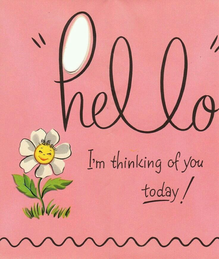 Thinking Of You Quotes: 17 Best Images About Hello On Pinterest