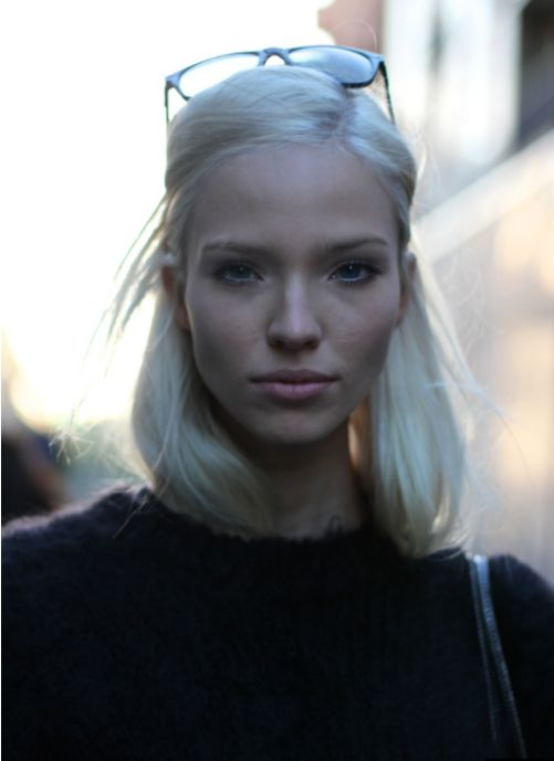 SASHA LUSS | SWEATER: Hair Beautiful, Hair Make Up, Beautiful Inspo, Models Beautiful, Sasha Luss Hair, Hair Makeup Nails, Blog Today, Fashion Blog, Style Fashion