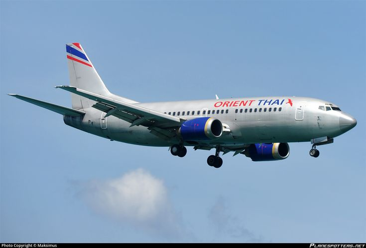 HS-BRI Orient Thai Airlines Boeing 737-3Z0 photographed at Phuket International (HKT / VTSP) by Maksimus